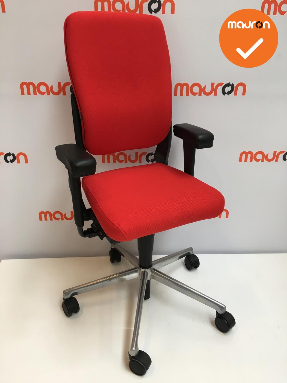 Zelf Bureaustoel Stofferen.Nieuwe Stoffering Voor Ahrend 230 Bureaustoel