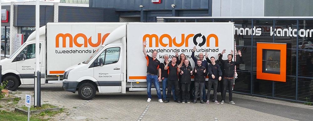 Mauron heet Brixxo en Albeka klanten van harte welkom
