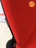 Ahrend 230 - Kleur frame naar keuze - Nieuwe stoffering in Felrood
