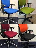 Het herstofferen van de zitting van een Ahrend 230 bureaustoel - 14 kleuren