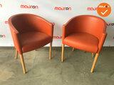 """Moroso """"Rich"""" - designstoel - oranje"""