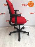 Ahrend 220 bureaustoel - 3D - bestaande rode stoffering