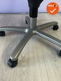 Haworth Comforto 77 medium - nieuwe stoffering - grijs voetkruis