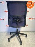Haworth Comforto 59 - paarse stoffering - kleur voetkruis naar keuze - zonder armleuningen
