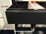 Hangmaplade voor Ahrend roldeurkast - zwart