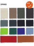 Haworth Comforto 77 - nieuwe stoffering in kleur naar keuze - chroom voetkruis