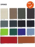 Haworth Comforto 77 Medium rug - nieuwe stoffering in kleur naar keuze - grijs voetkruis