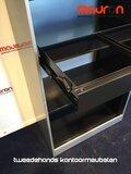 Hangmaplade voor Ahrend roldeurkast - 80cm - zwart