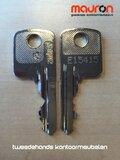Ahrend sleutel - E type - bestellen