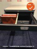 Hangmaplade voor Ahrend roldeurkast - 80x80cm - antracietgrijs