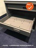 Papierlade voor Ahrend roldeurkast - 80x80cm - antracietgrijs