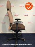 Herstofferen Haworth Comforto stoel met hoofdsteun in 14 kleuren
