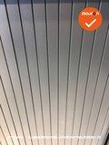 Roldeurkast - Ahrend - 74x120x45cm - Zilvergrijs_