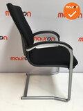 Ahrend 230 - Zilvergrijs frame - Nieuwe stoffering kleur naar keuze_
