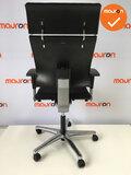 Bureaustoel - Ahrend 240 Centennial - nieuwe stoffering - gepolijst aluminium voetkruis_