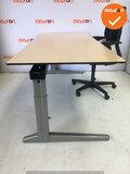 Ahrend bureau - 200x80cm - Ahorn - volkern