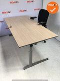 Ahrend bureau - 180x80 cm - Grijs Eiken - volkern