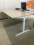 Ahrend bureau - 180x90 cm - Grijs Eiken - Mehes - Refurbished Wit
