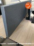 Akoestisch scherm - 180x40cm - grijs