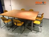 Conferentietafel - 244x166x72 - beuken_