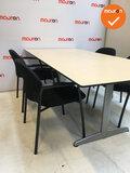 Ahrend vergadertafel - rechthoekig - 180x113cm - Ahorn