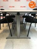 Ahrend 500 vergaderset - Inclusief 4 vergaderstoelen - 180x113cm - Ahorn - Kleur poot naar keuze