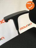 Ahrend 240 - Slede - Gepolijst aluminium voetkruis - Nieuwe stoffering in kleur naar keuze