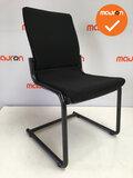 Ahrend 230 - Zwart frame - Nieuwe stoffering in kleur naar keuze - Zonder armleuning_