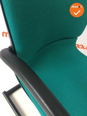 Ahrend 230 refurbished  - Kleur frame naar keuze - Nieuwe stoffering in de kleur groen