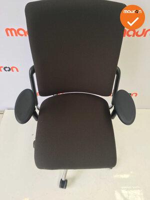 Rohde & Grahl - Xenium - Nieuwe antraciete stoffering - gepolijst aluminium voetkruis