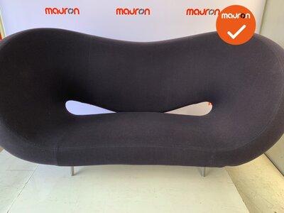 Moroso Victoria en Albert designbank - blauwgrijs antraciet