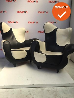 Moroso Alessandra Black & White designstoel