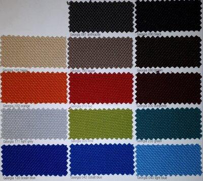 Ahrend 240 - 4 poots - nieuwe stoffering kleur naar keuze