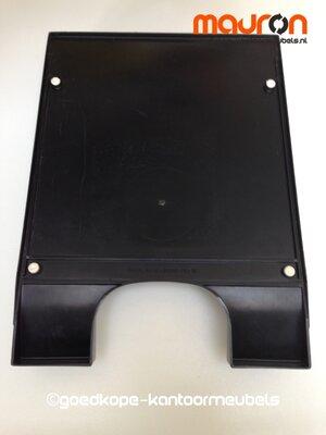 Leitz postbak - kunststof - zwart - stapelbaar