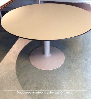 Ahrend vergadertafel - rond - 120cm - Ahorn - volkern