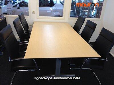 Ahrend Conferentie / vergadertafel - 220x113cm - Ahorn