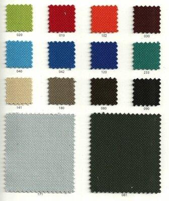 Nieuwe stoffering voor een Haworth vergaderstoel - 14 kleuren