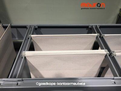 Hangmap lade voor 120cm Ahrend roldeurkast - Antracietgrijs