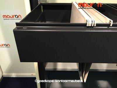 Hangmap lade voor 120cm Ahrend roldeurkast - Zwart