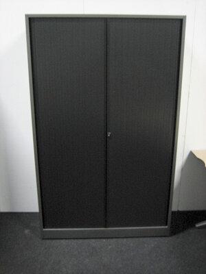 Roldeurkast - Ahrend - 160x120x45cm - Antracietgrijs - Topblad keuze