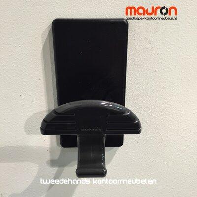 Wand kapstok - magnetisch - Manade 1 - Zwart