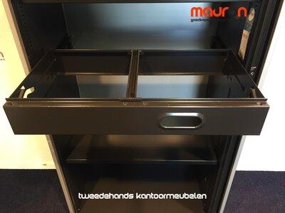 Hangmap lade voor 80x45cm Ahrend roldeurkast - Zwart