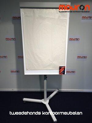 Staples flipover - 92x70cm - wit - op voet