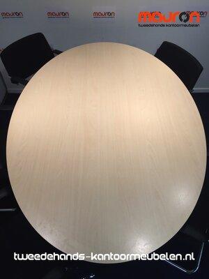 Ahrend 20 (Mehes) vergadertafel - 180x120cm - ovaal - volkern - Ahorn