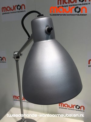 Bureaulamp grijs klein