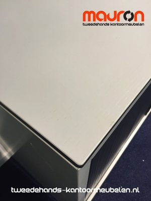 Roldeurkast - Ahrend  - 74x120x45cm - lichtgrijs