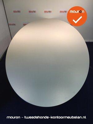 Ahrend vergadertafel - 260 x 120cm - ovaal - grijs