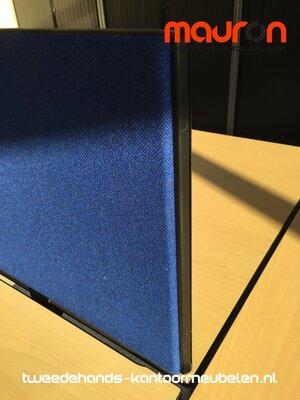 Akoestisch tafelscherm - dubbelzijdig - 180x40cm - keuze uit 30 kleuren