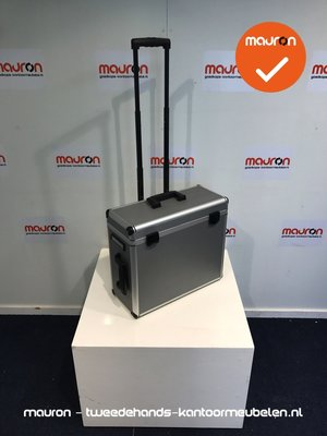 Ahrend trolley - werkkoffer - zilvergrijs aluminum (NIEUW)
