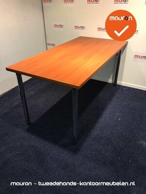 Kusch & Co vergadertafel - 160x80cm - Beuken/kastanje - NIEUWSTAAT